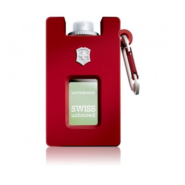 Victorinox Swiss Unlimited Red Eau de Toilette Rubber Version