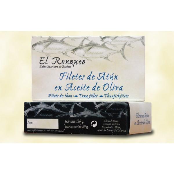 Filete de Atún blanco en aceite de oliva