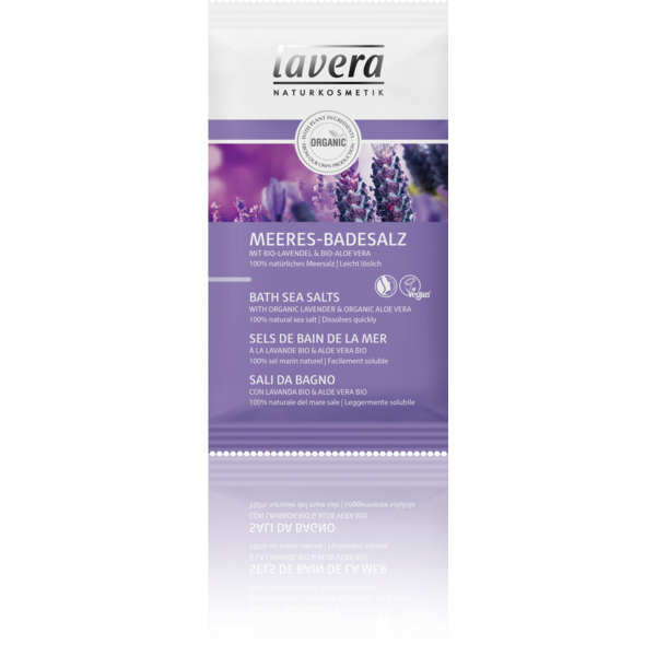 MEERES BADESALZ Bio Lavendel