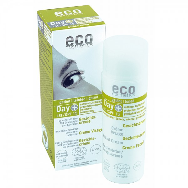 ECO Crema Facial Hidratante con Color FPS 15 50ml