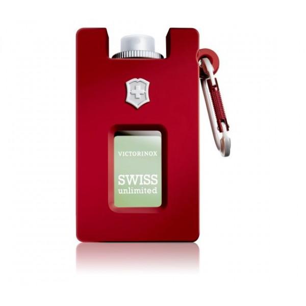 Victorinox Swiss Unlimited Red Eau de Toilette Rubber Version